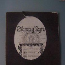 Coleccionismo de Revistas y Periódicos: REVISTA BLANCO Y NEGRO N. 580. MADRID 14 JUNIO 1902. Lote 50816152