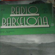 Coleccionismo de Revistas y Periódicos: REVISTA RADIO BARCELONA PORT DE LA SELVA COSTA BRAVA CINE 1934 CATALAN TEATRO. Lote 50851393