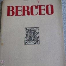 Coleccionismo de Revistas y Periódicos: BERCEO BOLETÍN DEL INSTITUTO DE ESTUDIOS RIOJANOS Nº43 LOGROÑO 1957. Lote 50916678