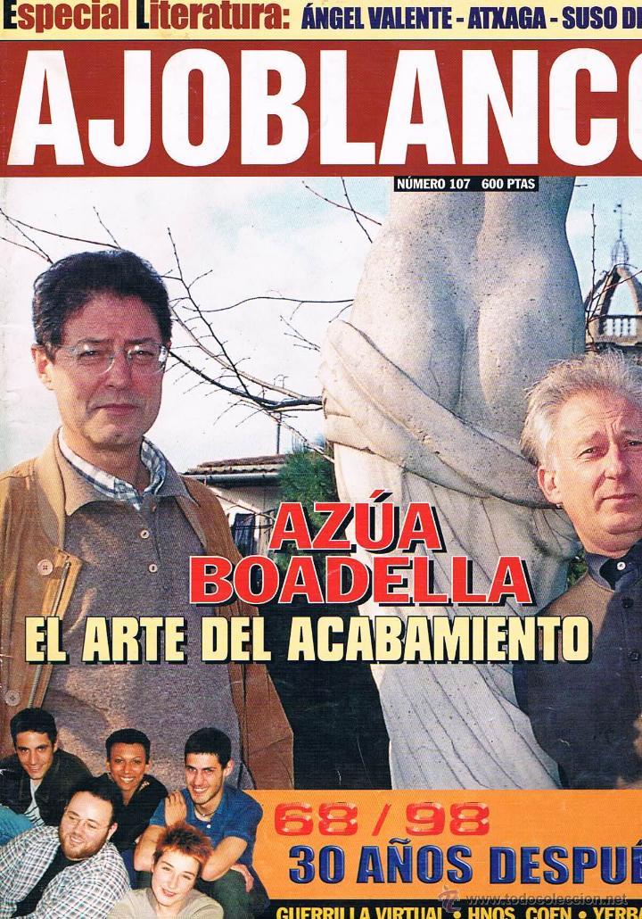 REVISTA AJOBLANCO NÚMERO 107 MAYO 1998 (Coleccionismo - Revistas y Periódicos Modernos (a partir de 1.940) - Otros)