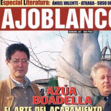 Coleccionismo de Revistas y Periódicos: REVISTA AJOBLANCO NÚMERO 107 MAYO 1998. Lote 50996833