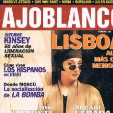 Coleccionismo de Revistas y Periódicos: REVISTA AJOBLANCO NÚMERO 106 ABRIL 1998. Lote 50996901
