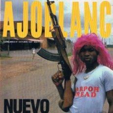 Coleccionismo de Revistas y Periódicos: REVISTA AJOBLANCO NÚMERO 37 OCTUBRE 1991. Lote 50996921