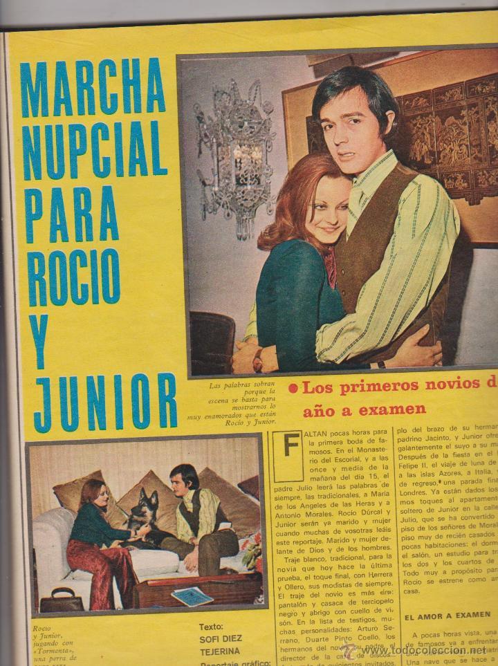 Coleccionismo de Revistas y Periódicos: REVISTA AMA 1970 ROCIO DURCAL Y JUNIOR EN PORTADA - Foto 2 - 51034292