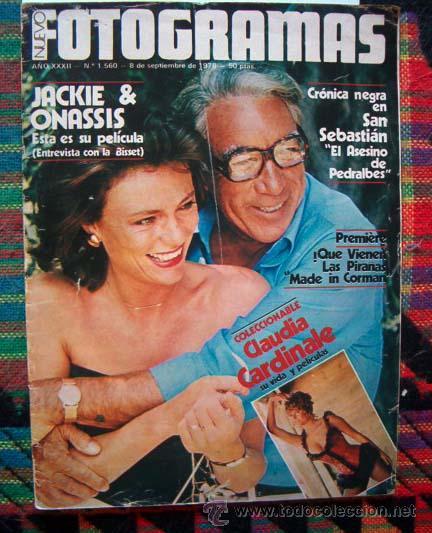 REVISTA FOTOGRAMAS / JACQUELINE BISSET, AGATA LYS, ABBA, PIRAÑA, CLAUDIA CARDINALE, LOREN.... (Coleccionismo - Revistas y Periódicos Modernos (a partir de 1.940) - Otros)