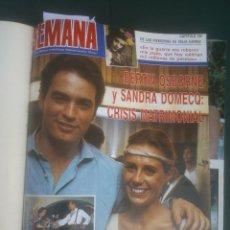 Coleccionismo de Revistas y Periódicos: REVISTA SEMANA VER FOTOS HISTORIA DE ESPAÑA 16 REVISTAS AÑOS;80S. Lote 51036134