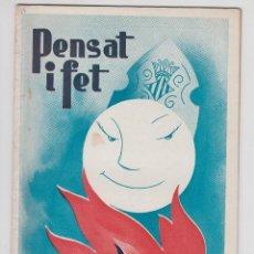 Coleccionismo de Revistas y Periódicos: REVISTA PENSAT I FET 1957 - FALLAS VALENCIA. Lote 51038286