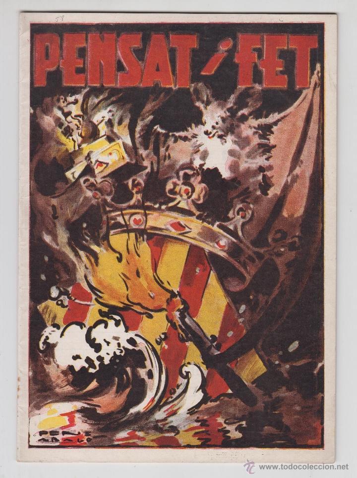 REVISTA PENSAT I FET 1958 - FALLAS VALENCIA (Coleccionismo - Revistas y Periódicos Modernos (a partir de 1.940) - Otros)