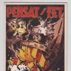 Coleccionismo de Revistas y Periódicos: REVISTA PENSAT I FET 1958 - FALLAS VALENCIA. Lote 51038304