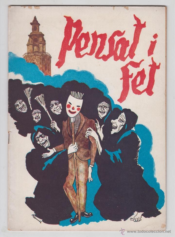 REVISTA PENSAT I FET 1960 - FALLAS VALENCIA (Coleccionismo - Revistas y Periódicos Modernos (a partir de 1.940) - Otros)