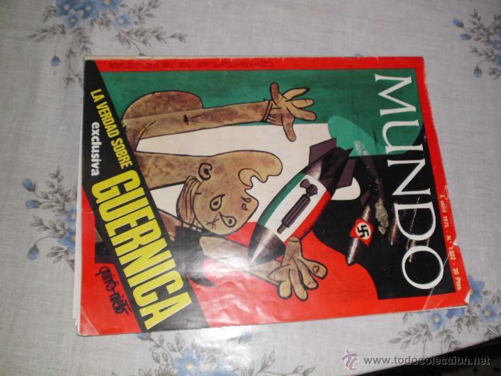 DOSSIER MUNDO (Coleccionismo - Revistas y Periódicos Modernos (a partir de 1.940) - Otros)
