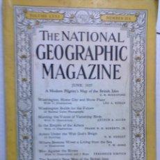Coleccionismo de Revistas y Periódicos: THE NATIONAL GEOGRAPHIC JUNE 1937 -CON PROPAGANDA DE COCA COLA -. Lote 51055217