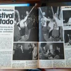 Coleccionismo de Revistas y Periódicos: RECORTES SAN SEBASTIAN FESTIVAL DE CINE. Lote 51064464