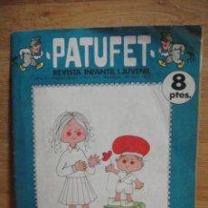 Coleccionismo de Revistas y Periódicos: PATUFET Nº 157 - SEGONA EPOCA. Lote 51080792