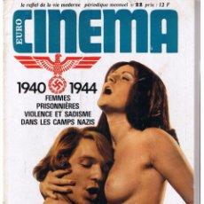 Coleccionismo de Revistas y Periódicos - EURO CINEMA. Nº 22. EDICION FRANCESA. DEC. 1974. (P/B3) - 51083923