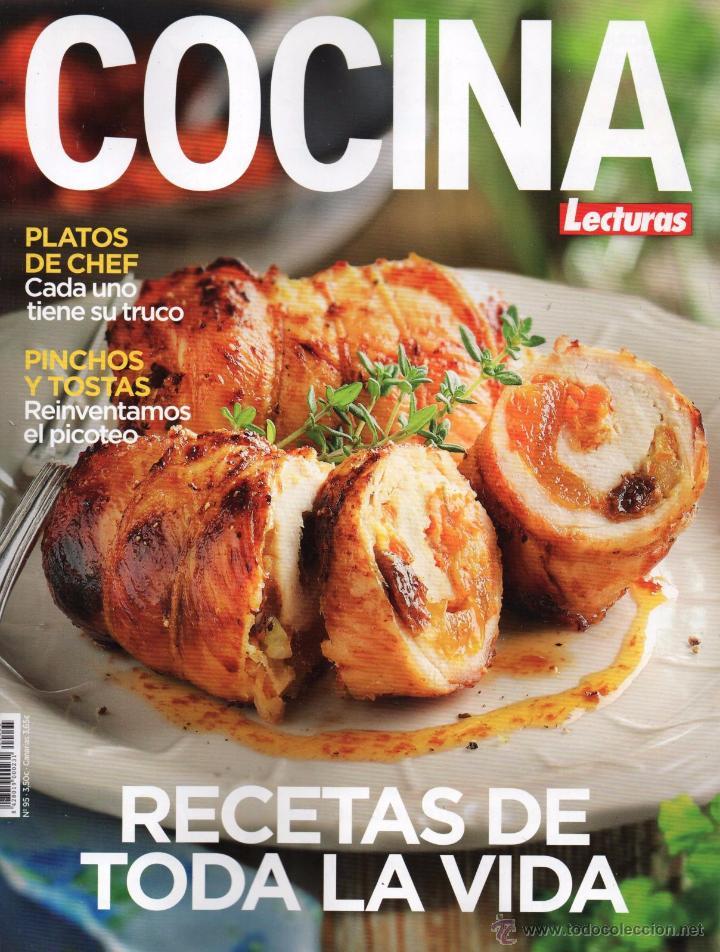 Lecturas cocina n 95 en portada recetas de comprar - Revista cocina facil lecturas ...