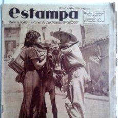 Coleccionismo de Revistas y Periódicos: ESTAMPA Nº 392- 20 JULIO 1935. Lote 51091122