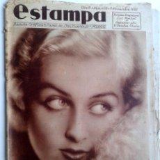 Coleccionismo de Revistas y Periódicos: ESTAMPA Nº 408 - 9 NOVIEMBRE 1935 - SAN SEBASTIAN - . Lote 51091791