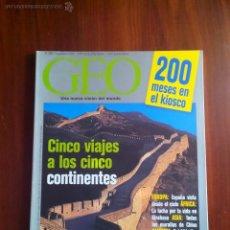 Coleccionismo de Revistas y Periódicos: REVISTA GEO N° 200, SEPTIEMBRE 2003. Lote 51096289
