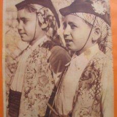 Coleccionismo de Revistas y Periódicos: FOTO REVISTA PORTADA 1935 - ALICANTE DANZAS TRAJES REGIONAL DIA DE FIESTA EN CONCENTAINA - 1 PAG.. Lote 51103026