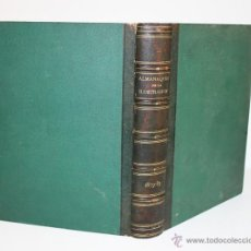 Coleccionismo de Revistas y Periódicos: ALAMANQUE DE LA ILUSTRACION 1879-1880-1881-1882-1883.. Lote 51105056