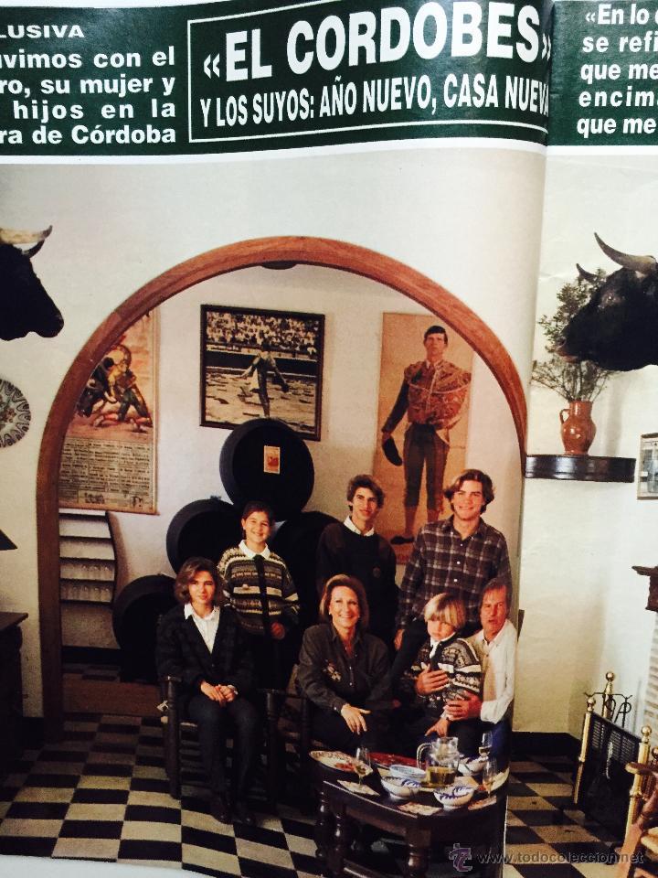 Coleccionismo de Revistas y Periódicos: Audrey Hepburn, Rocío Jurado, Rolling Stones, kevin costner, el cordobés, michael douglas - Foto 3 - 51113070