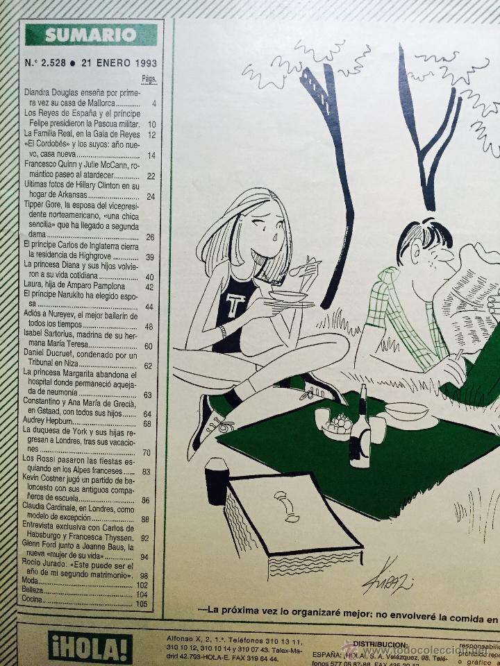 Coleccionismo de Revistas y Periódicos: Audrey Hepburn, Rocío Jurado, Rolling Stones, kevin costner, el cordobés, michael douglas - Foto 5 - 51113070