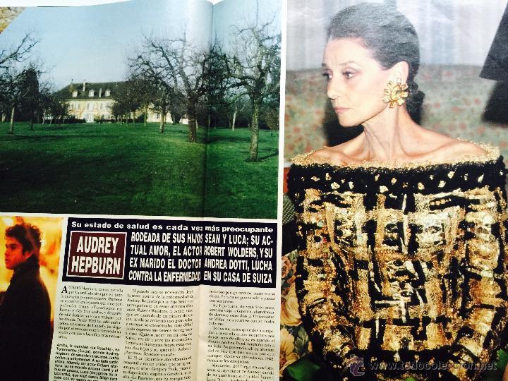 Coleccionismo de Revistas y Periódicos: Audrey Hepburn, Rocío Jurado, Rolling Stones, kevin costner, el cordobés, michael douglas - Foto 12 - 51113070