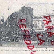 Coleccionismo de Revistas y Periódicos: VOLATERIA 1899 FIGUERAS GERONA JURADO CONCURSO HOJA LIBRITO. Lote 219460415