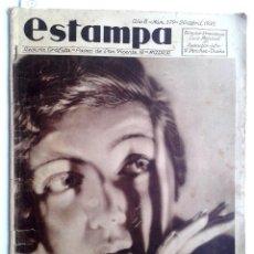 Coleccionismo de Revistas y Periódicos: ESTAMPA Nº 379 - 20 ABRIL 1935 - NAVARRA - EXTREMADURA. Lote 51128155