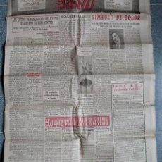 Coleccionismo de Revistas y Periódicos: SIGNO, SEMANARIO NACIONAL DE LA JUVENTUD DE ACCION CATOLICA ESPAÑOLA, ABRIL 1949. Lote 51147633
