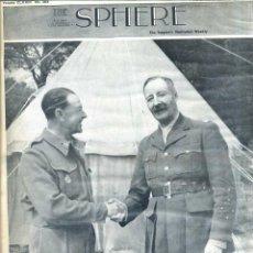 Coleccionismo de Revistas y Periódicos: THE SPHERE 3 APR. 1943 - AFRICA - 2ª GUERRA MUNDIAL. Lote 51158437