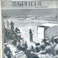 Coleccionismo de Revistas y Periódicos: THE SPHERE 17 ABR. 1943 - AFRICA - 2ª GUERRA MUNDIAL. Lote 51158678