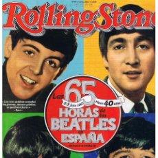 Coleccionismo de Revistas y Periódicos: ROLLING STONE. Nº 69. LAS 65 HORAS DE LOS BEATLES EN ESPAÑA. JULIO 2005. (P/B1). Lote 51190290