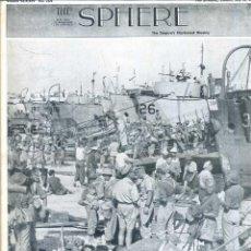Coleccionismo de Revistas y Periódicos: THE SPHERE 24 JUL. 1943 - 2ª GUERRA MUNDIAL. Lote 51225573
