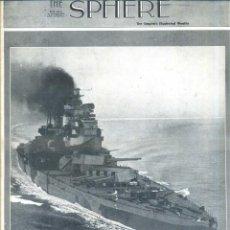 Coleccionismo de Revistas y Periódicos: THE SPHERE 1 MAY. 1943 - 2ª GUERRA MUNDIAL. Lote 51225823