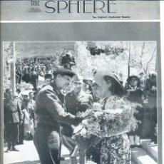 Coleccionismo de Revistas y Periódicos: THE SPHERE 8 MAY. 1943 - 2ª GUERRA MUNDIAL. Lote 51225840