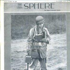 Coleccionismo de Revistas y Periódicos: THE SPHERE 15 MAY. 1943 - 2ª GUERRA MUNDIAL. Lote 51225849