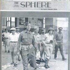 Coleccionismo de Revistas y Periódicos: THE SPHERE 16 OCT. 1943 - 2ª GUERRA MUNDIAL. Lote 51225905
