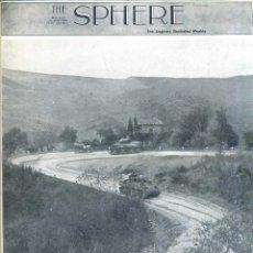 Coleccionismo de Revistas y Periódicos: THE SPHERE 4 NOV. 1943 - 2ª GUERRA MUNDIAL. Lote 51225914