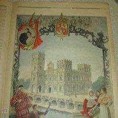 Coleccionismo de Revistas y Periódicos: PABELLÓN DE ESPAÑA, EXPOSICIÓN UNIVERSAL DE PARIS DE 1900, ILUSTRACIÓN COLOREADA EN LE PETIT JOURNAL. Lote 51237215