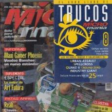 Coleccionismo de Revistas y Periódicos: MICROMANIA Nº 46 + 1 CD-ROM + LIBRO DE TRUCOS. Lote 51244344