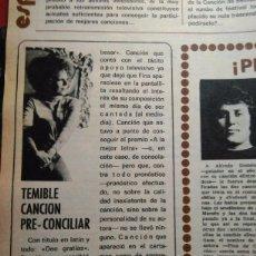 Coleccionismo de Revistas y Periódicos: RECORTE FINA CALDERON. Lote 51258127