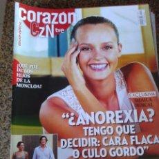 Coleccionismo de Revistas y Periódicos: REVISTA -- CORAZON -- SHAILA DURCAL -- Nº 6 --. Lote 51318621