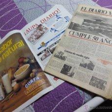 Coleccionismo de Revistas y Periódicos: EXTRA EDICIÓN ESPECIAL ANIVERSARIO PERIODICO DIARIO VASCO 50 AÑOS. Lote 51357648