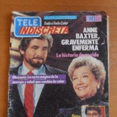 Coleccionismo de Revistas y Periódicos: REVISTA TELEINDISCRETA Nº 45 ANNE BAXTER TOCATA ANTONIO OZORES TELE-INDISCRETA. Lote 51362977