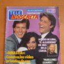 Coleccionismo de Revistas y Periódicos: REVISTA TELEINDISCRETA Nº62 DINASTIA ALASKA DAVID EL GNOMO MARLO BRANDO TELE-INDISCRETA. Lote 51368829