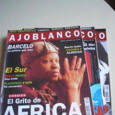Collezionismo di Riviste e Giornali: REVISTA AJOBLANCO - 3 NÚMEROS (1994-1995) - ¡PRECIO POR EJEMPLAR!. Lote 51378825