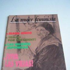 Coleccionismo de Revistas y Periódicos: REVISTA LA MUJER FEMINISTA Nº 24 1986 - FEMINISMO. Lote 51379263