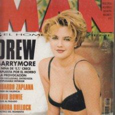 Coleccionismo de Revistas y Periódicos: MAN Nº 97 NOVIEMBRE 1995 POSTER CENTRAL DESPLEGABLE: DREW BARRYMORE. Lote 51385532